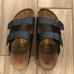 Birkenstock Arizona Black Sandals 36